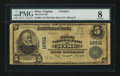 National Bank Notes:Virginia, Wise, VA - $5 1902 Plain Back Fr. 605 The First NB Ch. # 10611. ...