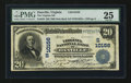 National Bank Notes:Virginia, Danville, VA - $20 1902 Date Back Fr. 646 The Virginia NB Ch. #(S)10156. ...