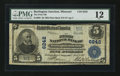 National Bank Notes:Missouri, Burlington Junction, MO - $5 1902 Plain Back Fr. 609 The First NBCh. # 6242. ...
