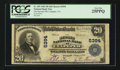 National Bank Notes:Virginia, Culpeper, VA - $20 1902 Plain Back Fr. 659 The Second NB Ch. #5394. ...