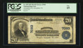 National Bank Notes:Virginia, Alexandria, VA - $20 1902 Plain Back Fr. 650 Alexandria NB Ch. #7093. ...