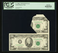 Error Notes:Foldovers, Fr. 2082-F $20 1995 Federal Reserve Note. PCGS Gem New 65PPQ.. ...