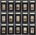 Hockey Cards:Sets, 1924-25 C144 Champs Cigarettes Complete Set (60) - #3 on the SGCSet Registry! ...