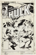 Original Comic Art:Covers, Mike Mignola and Mundelo The Incredible Hulk #304 CoverOriginal Art (Marvel, 1985)....