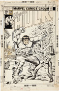 Original Comic Art:Covers, Ernie Chan The Incredible Hulk #226 Cover Original Art(Marvel, 1978)....