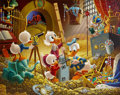Carl Barks An Embarrassment of Riches Oil Painting Original Art (1983)