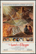 "Movie Posters:Animated, The Lord of the Rings (United Artists, 1978). One Sheet (27"" X 41"") Style B. Animated.. ..."