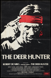"The Deer Hunter (EMI, 1978). British Double Crown (19.25"" X 29.5""). Drama"