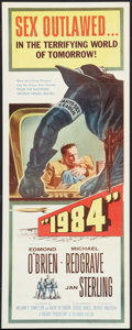 "Movie Posters:Science Fiction, 1984 (Columbia, 1956). Insert (14"" X 36""). Science Fiction.. ..."