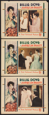 """The American Beauty (First National, 1927). Lobby Cards (3) (11"""" X 14""""). Romance. ... (Total: 3 Items)"""