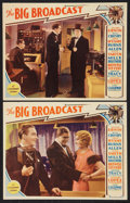 """Movie Posters:Musical, The Big Broadcast (Paramount, 1932). Lobby Card (11"""" X 14""""). Musical.. ... (Total: 2 Items)"""