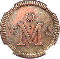 Mexico, Mexico: Carlos III 1/16 Real Copper Pattern 1768,...