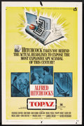 "Movie Posters:Hitchcock, Topaz (Universal, 1969). One Sheet (27"" X 41""). Hitchcock. ..."