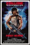 "Movie Posters:Action, First Blood (Orion, 1982). One Sheet (27"" X 41""). Action. ..."
