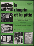 """Movie Posters:Documentary, The Sorrow and the Pity (Cinema 5, 1972). French Grande (47"""" X 63""""). Documentary. Narrated by Marcel Ophuls. Directed by Mar..."""