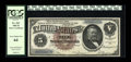 Large Size:Silver Certificates, Fr. 263 $5 1886 Silver Certificate PCGS Very Choice New 64....