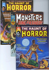 The Haunt of Horror/Monsters Unleashed and Others Group (Miscellaneous , 1973-88) Condition: Average VF/NM.... (Total: 1...