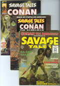 Magazines:Adventure, Savage Tales #1-11 Group (Marvel, 1971-75) Condition: Average VF.... (Total: 12 Comic Books)