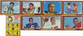 Football Cards:Sets, 1966 Topps Football Complete Set (132). Complete set of 132 cards comes complete with vintage wrapper from the series. High...
