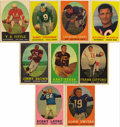 Football Cards:Sets, 1958 Topps Football Complete Set (132). Set of 132 cards comes complete with vintage wrapper from the series. Highlights in...