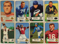 Football Cards:Sets, 1954 Bowman Football Near Complete Set (126/128). Near set (126/128) is missing only #88 Hanner, 95 and includes an extra va...