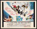 "Movie Posters:War, The Blue Max (20th Century Fox, 1966). Half Sheet (22"" X 28""). War...."