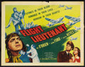 "Movie Posters:Drama, Flight Lieutenant (Columbia, 1942). Half Sheet (22"" X 28""). Drama...."