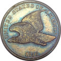 Patterns, 1856 P1C Flying Eagle Cent, Judd-181, Pollock-Unlisted, Snow-5b, High R.6, PR65 Brown PCGS....