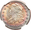 Bust Dimes, 1821 10C Small Date MS66 NGC. JR-9, R.2....