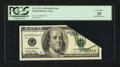 Error Notes:Foldovers, Fr. 2175-A $100 1996 Federal Reserve Note. PCGS Very Fine 35.. ...