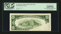 Error Notes:Foldovers, Fr. 2011-B* $10 1950A Federal Reserve Note. PCGS Very Choice New64PPQ.. ...