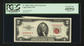 Error Notes:Miscellaneous Errors, Fr. 1509* $2 1953 Legal Tender Note. PCGS Extremely Fine 45PPQ.. ...