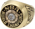 Basketball Collectibles:Others, 1976 Boston Celtics NBA Championship Ring Presented to Team Owner....