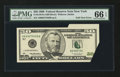 Error Notes:Foldovers, Fr. 2126-B $50 1996 Federal Reserve Note. PMG Gem Uncirculated 66EPQ.. ...
