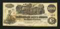 Confederate Notes:1862 Issues, T39 PF-9 $100 1862.. ...