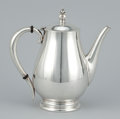 Silver Holloware, American:Coffee Pots, AN AMERICAN SILVER COFFEE POT. International Silver Co., Meridan,Connecticut, circa 1939. Marks: ROYAL DANISH, U.S.A., IN...