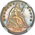 Proof Seated Half Dimes, 1859 H10C Transitional PR63 NGC. Breen-3096, Judd-232, Pollock-279, Low R.7....