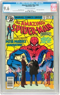 The Amazing Spider-Man #185 (Marvel, 1978) CGC NM+ 9.6 Off-white to white pages