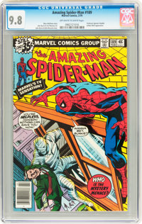 The Amazing Spider-Man #189 (Marvel, 1979) CGC NM/MT 9.8 Off-white to white pages