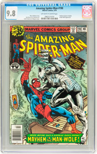 The Amazing Spider-Man #190 (Marvel, 1979) CGC NM/MT 9.8 Off-white to white pages