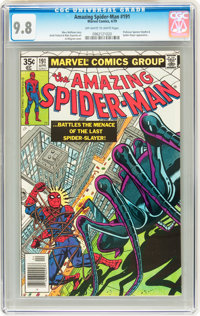 The Amazing Spider-Man #191 (Marvel, 1979) CGC NM/MT 9.8 Off-white to white pages