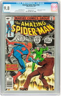The Amazing Spider-Man #192 (Marvel, 1979) CGC NM/MT 9.8 Off-white to white pages