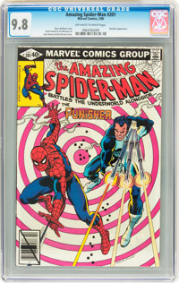 The Amazing Spider-Man #201 (Marvel, 1980) CGC NM/MT 9.8 Off-white to white pages