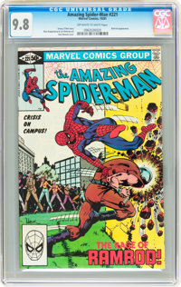 The Amazing Spider-Man #221 (Marvel, 1981) CGC NM/MT 9.8 Off-white to white pages