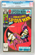 Modern Age (1980-Present):Superhero, The Amazing Spider-Man #223 (Marvel, 1981) CGC NM/MT 9.8 Off-white to white pages....