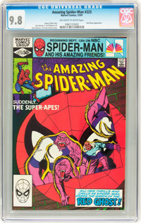 The Amazing Spider-Man #223 (Marvel, 1981) CGC NM/MT 9.8 Off-white to white pages