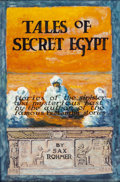 Pulp, Pulp-like, Digests, and Paperback Art, RUSSEL CROFOTT (American, 20th Century). Tales of Secret Egypt,cover illustration. Mixed media on board. 16.25 x 10.5 i...