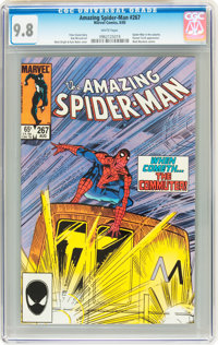 The Amazing Spider-Man #267 (Marvel, 1985) CGC NM/MT 9.8 White pages