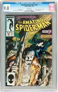 The Amazing Spider-Man #294 (Marvel, 1987) CGC NM/MT 9.8 White pages