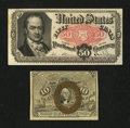 Fractional Currency:Second Issue, Two Extremely Fine Fractionals.. ... (Total: 2 notes)